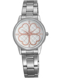 Skone York Steel Ladies Watch - White