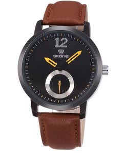 Skone Canterbury Mens Watch - Brown