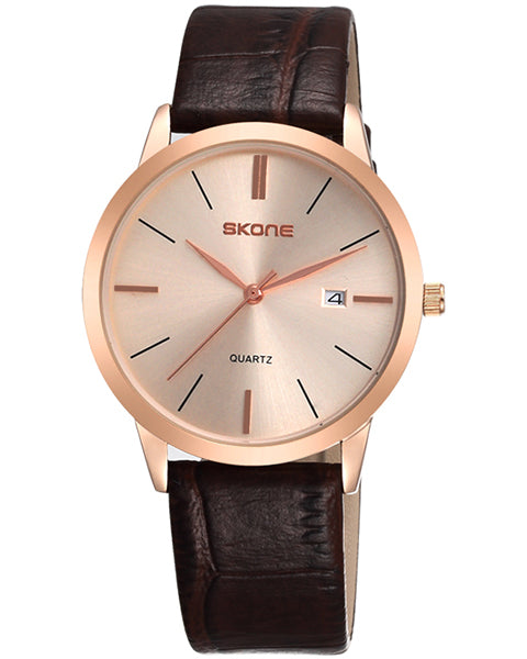Skone Southampton Mens Watch - Rose Gold