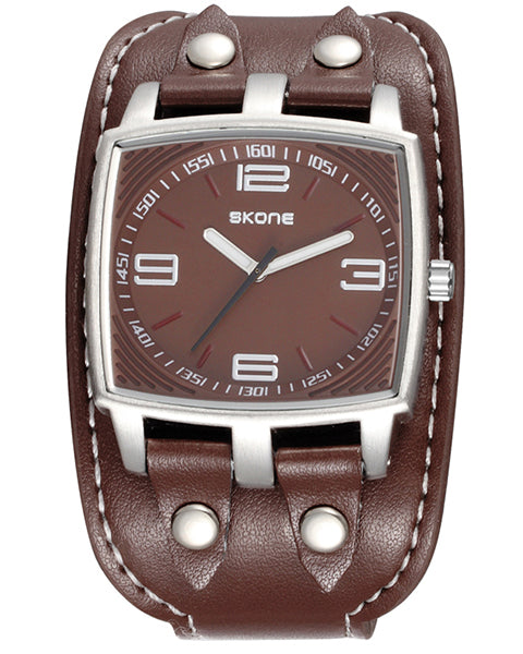 Skone Wolverhampton Mens Watch - Chocolate