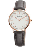 SKONE Westminster Ladies Watch - Black Strap