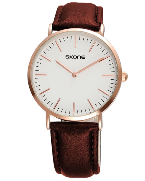 SKONE Westminster Mens Watch - Brown Strap
