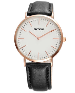 SKONE Westminster Mens Watch - Black Strap