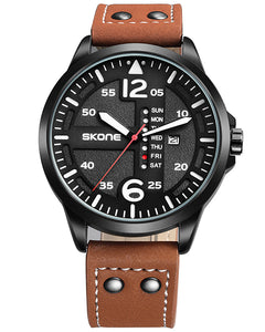 Skone Rochester Mens Watch - Tan Strap