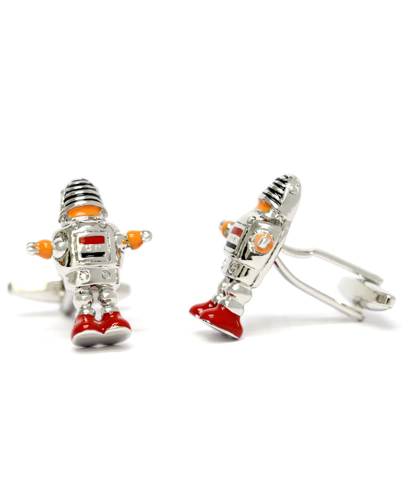Skone Robot Cufflinks Lost in Space