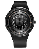Skone Magnetic Ball Watch With Unique Rotating Ball-In-Orbit Dail