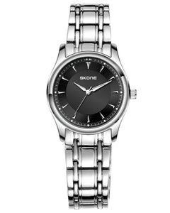 Skone Lawrence Steel Ladies Watch - Black