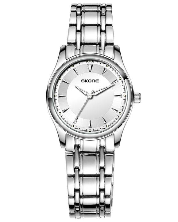 Skone Lwarence Steel Ladies Watch - Silver