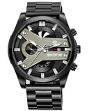 Skone Fletcher Stainless Steel Chronograph Men's Watch