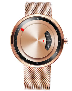 Skone Rose Gold Miller Quartz Movement Watch