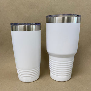 Custom White Polar Camel Tumblers