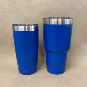 Custom Royal Blue Polar Camel Tumblers