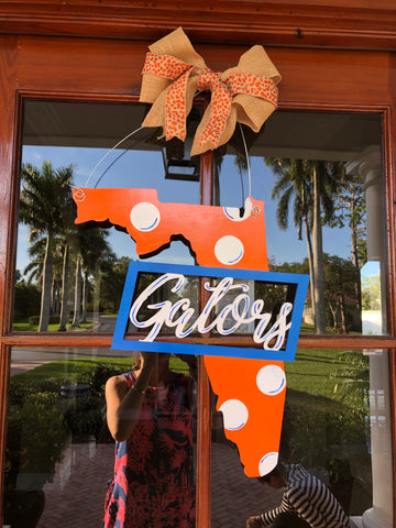 Florida Door Sign