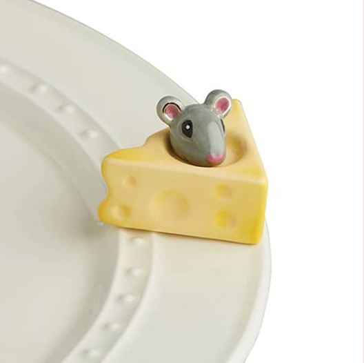 Nora Fleming Cheese and Mouse Mini