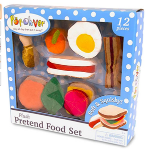 PopOhVer Plush Food Set