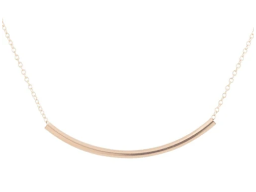 Bliss Bar Gold Necklace