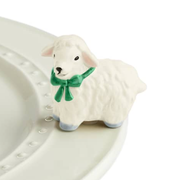 Nora Fleming I Love Ewe Mini