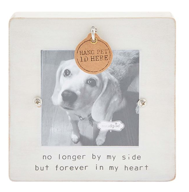 White Remembrance Pet Frame