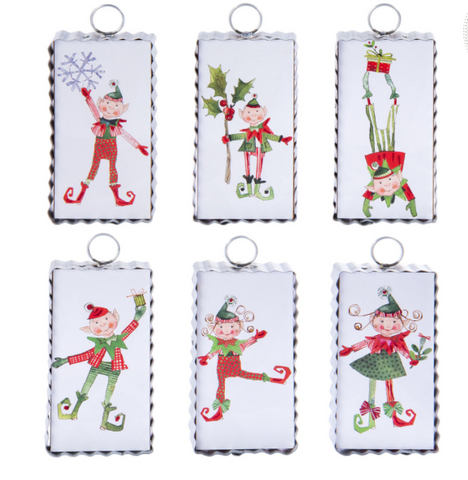 Silly Elf Ornaments
