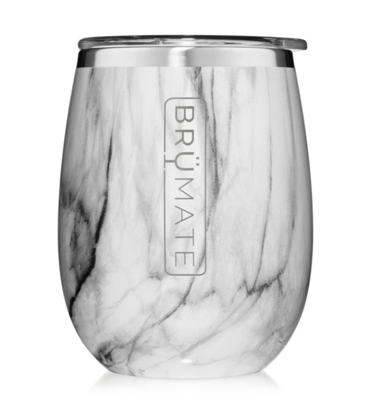 Stemless Wine Tumbler Marble