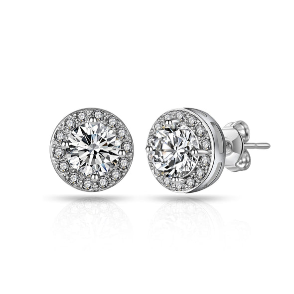 Philip Jones Halo Earrings