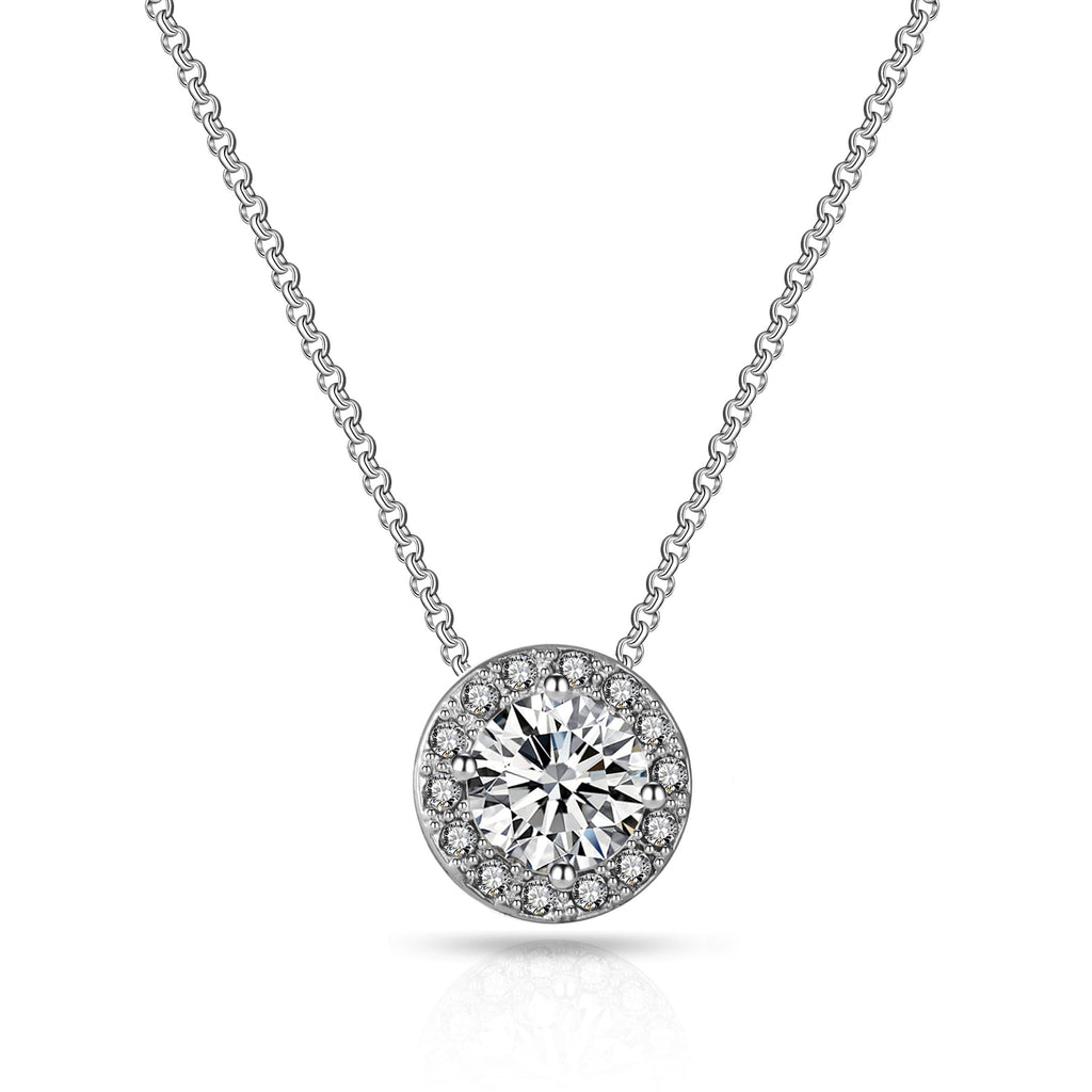 Philip Jones Halo Necklace