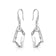 Sterling Silver Icecube Drop Earrings Created with Swarovski® Crystals