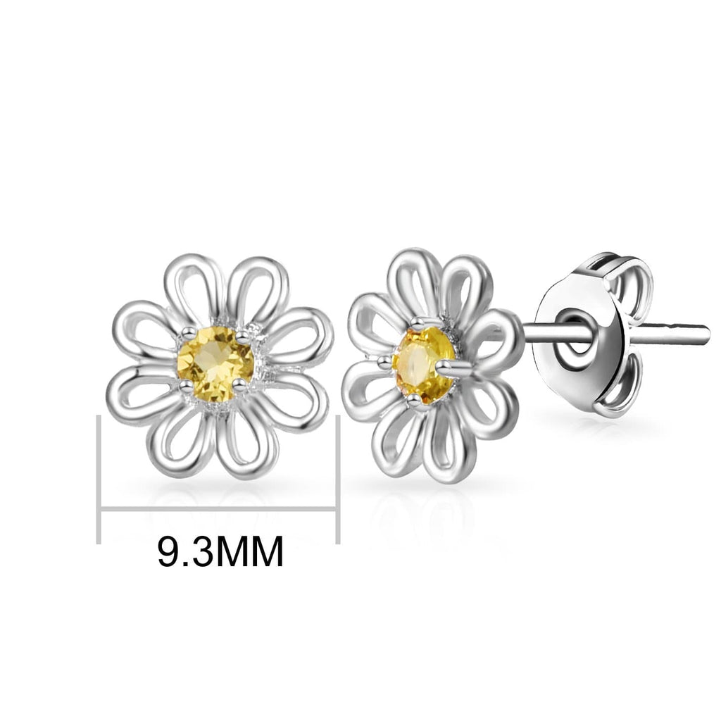 Daisy Crystal Stud Earrings Created with Swarovski Crystals