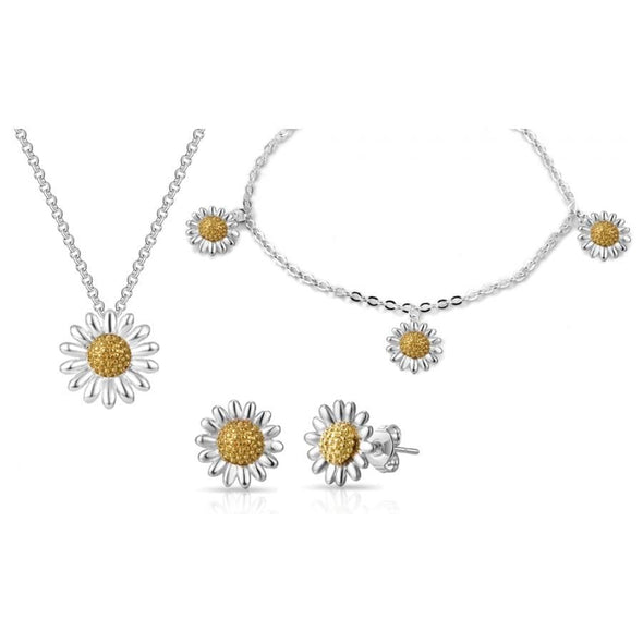 3pc Daisy Bracelet Set