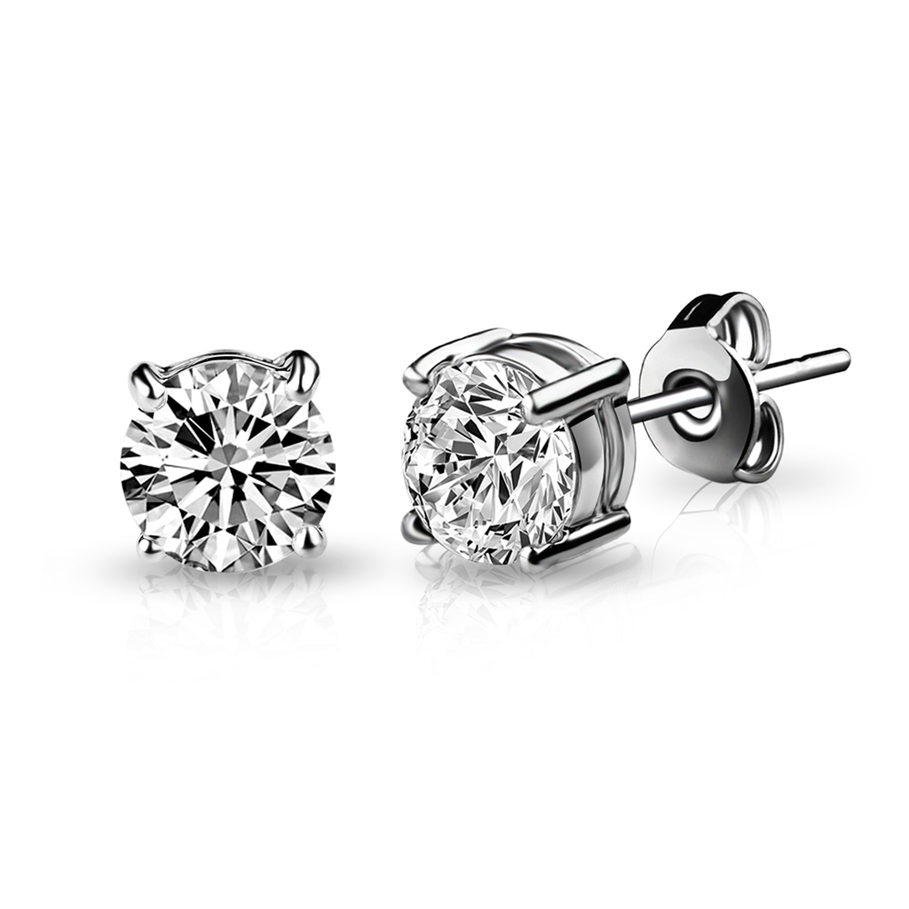 April (Diamond) Birthstone Earrings