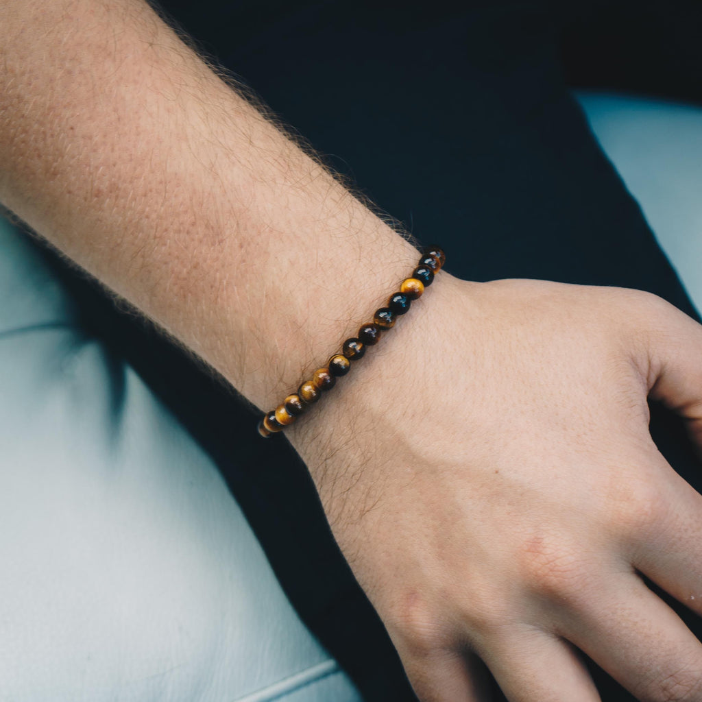 Men's Tiger's Eye Bracelet