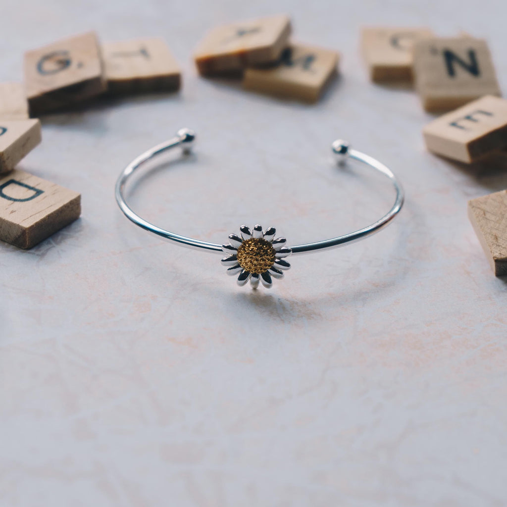 Daisy Cuff Bangle