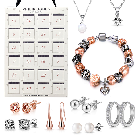 Jewellery Advent Calendar Created with Swarovski® Crystals