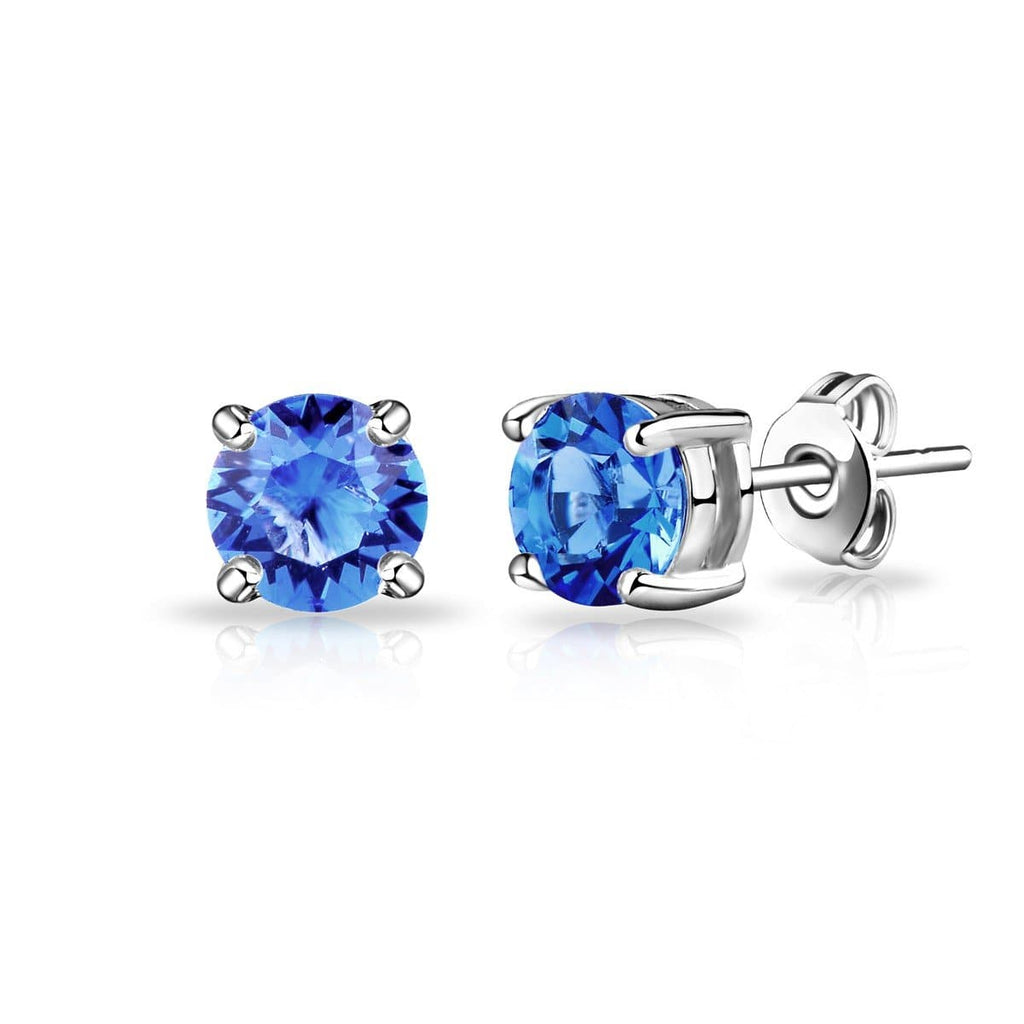 September (Sapphire) Birthstone Earrings