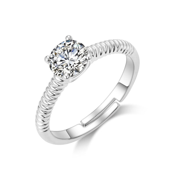 April (Diamond) Birthstone Ring