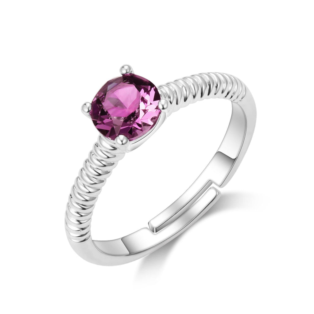 June (Alexandrite) Birthstone Ring
