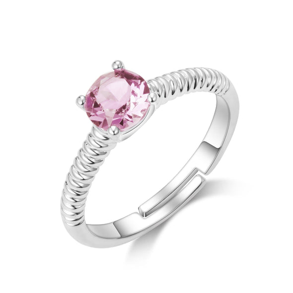 October (Tourmaline) Birthstone Ring
