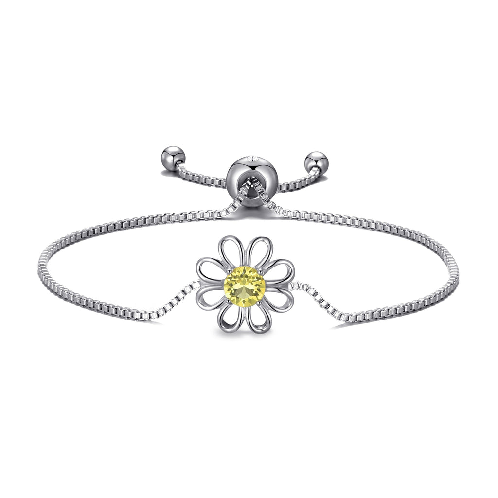 Daisy Crystal Friendship Bracelet Created with Swarovski® Crystals