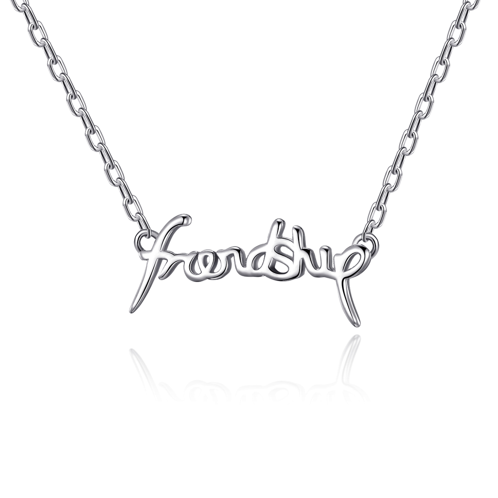 Silver Friendship Necklace