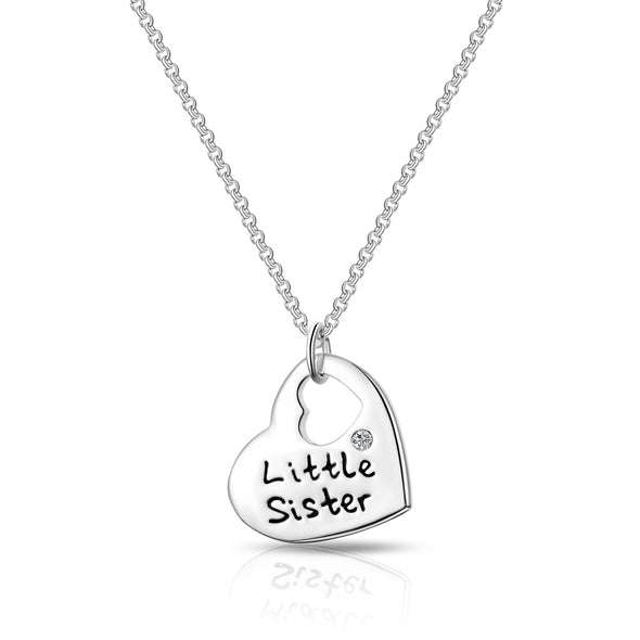 Little Sister Heart Necklace