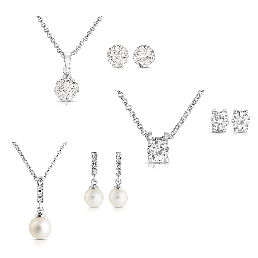 Luxury Travel Set Created with Swarovski Crystals