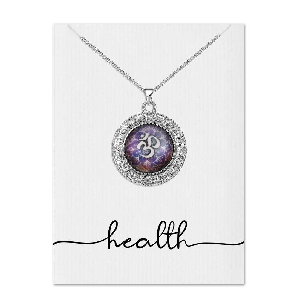 Health Mandala Necklace