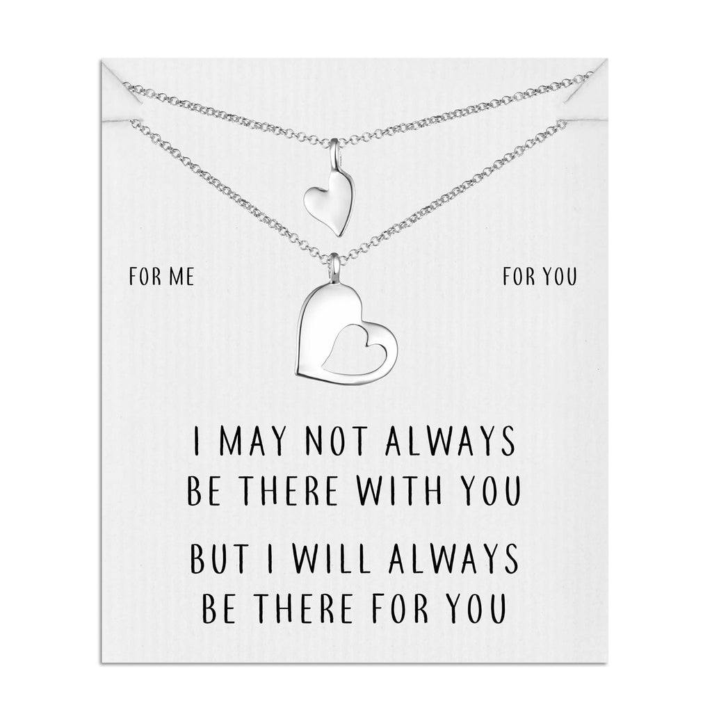 For Me For You Piece of My Heart Necklace Set