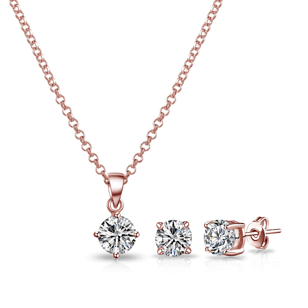 Rose Gold Plated Friendship Set