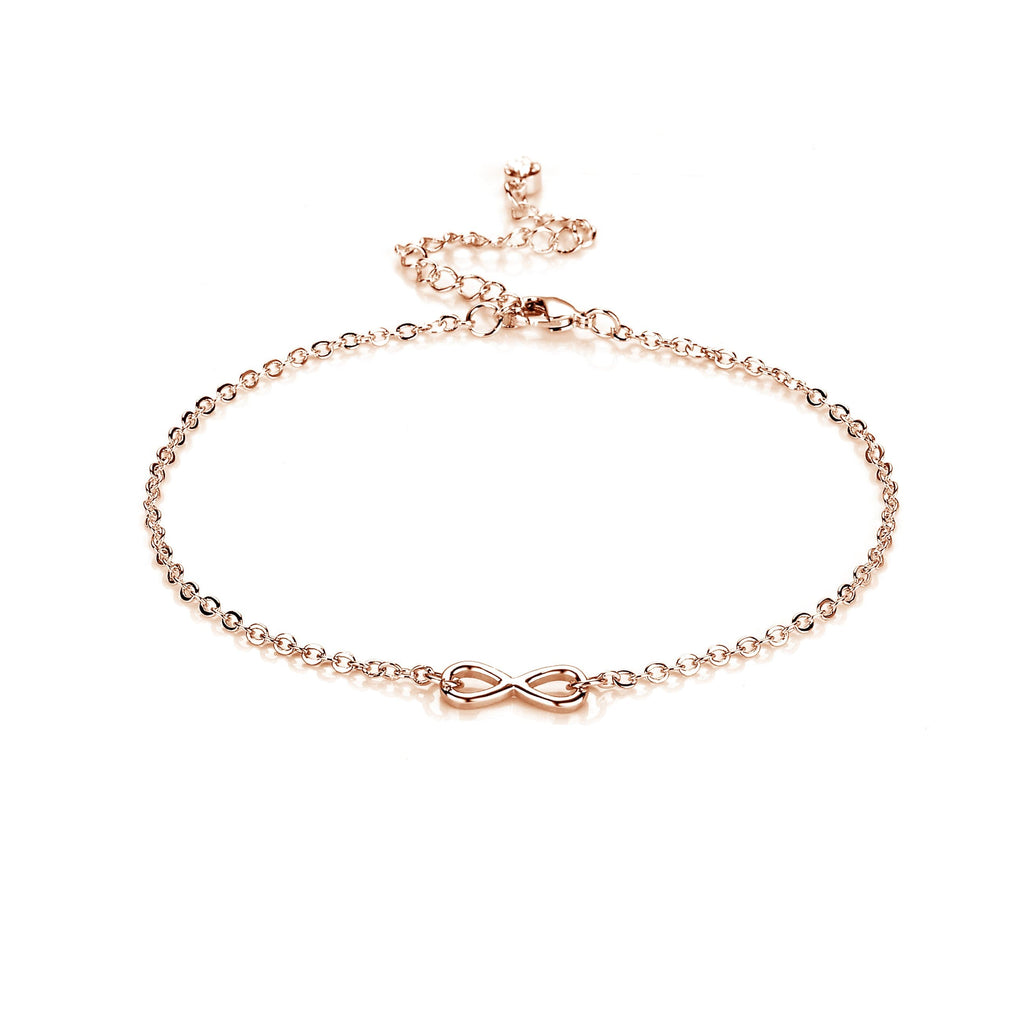 gorgeous main gold cross double products rose anklet ankle jewelry steel link wholesale bracelets stainless collections