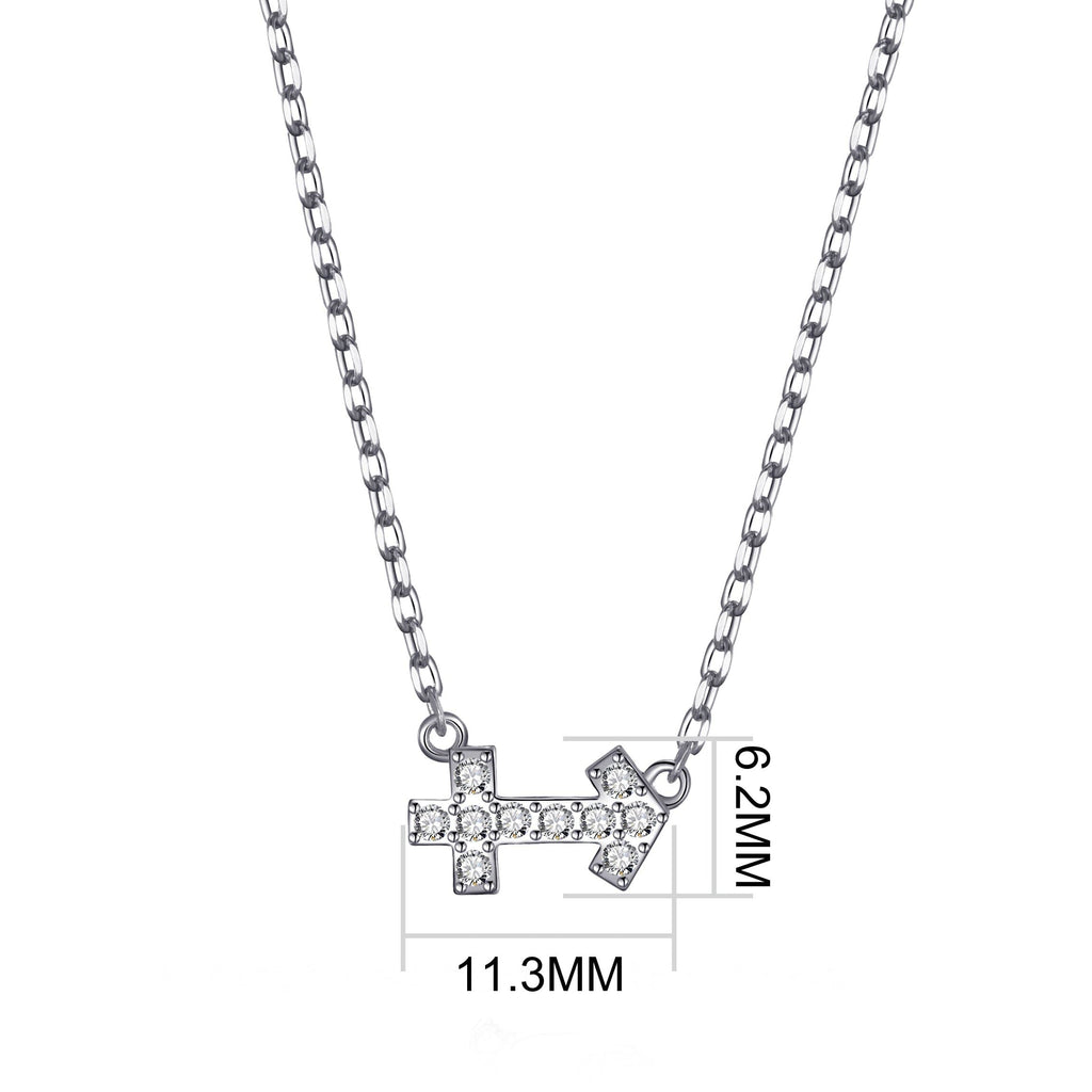 Sagittarius Zodiac Necklace Created with Swarovski® Crystals