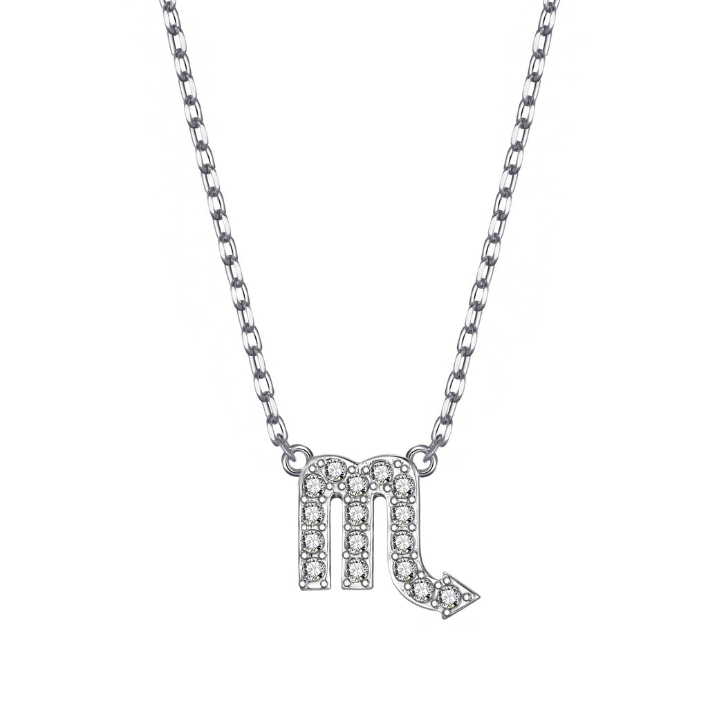 Scorpio Zodiac Necklace Created with Swarovski® Crystals
