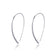 Sterling Silver Thread Earrings