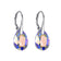 Sterling Silver Aurore Boreale Drop Earrings Created with Swarovski® Crystals