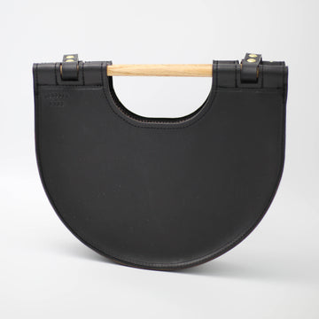 Dowel Half Circle Bag Black